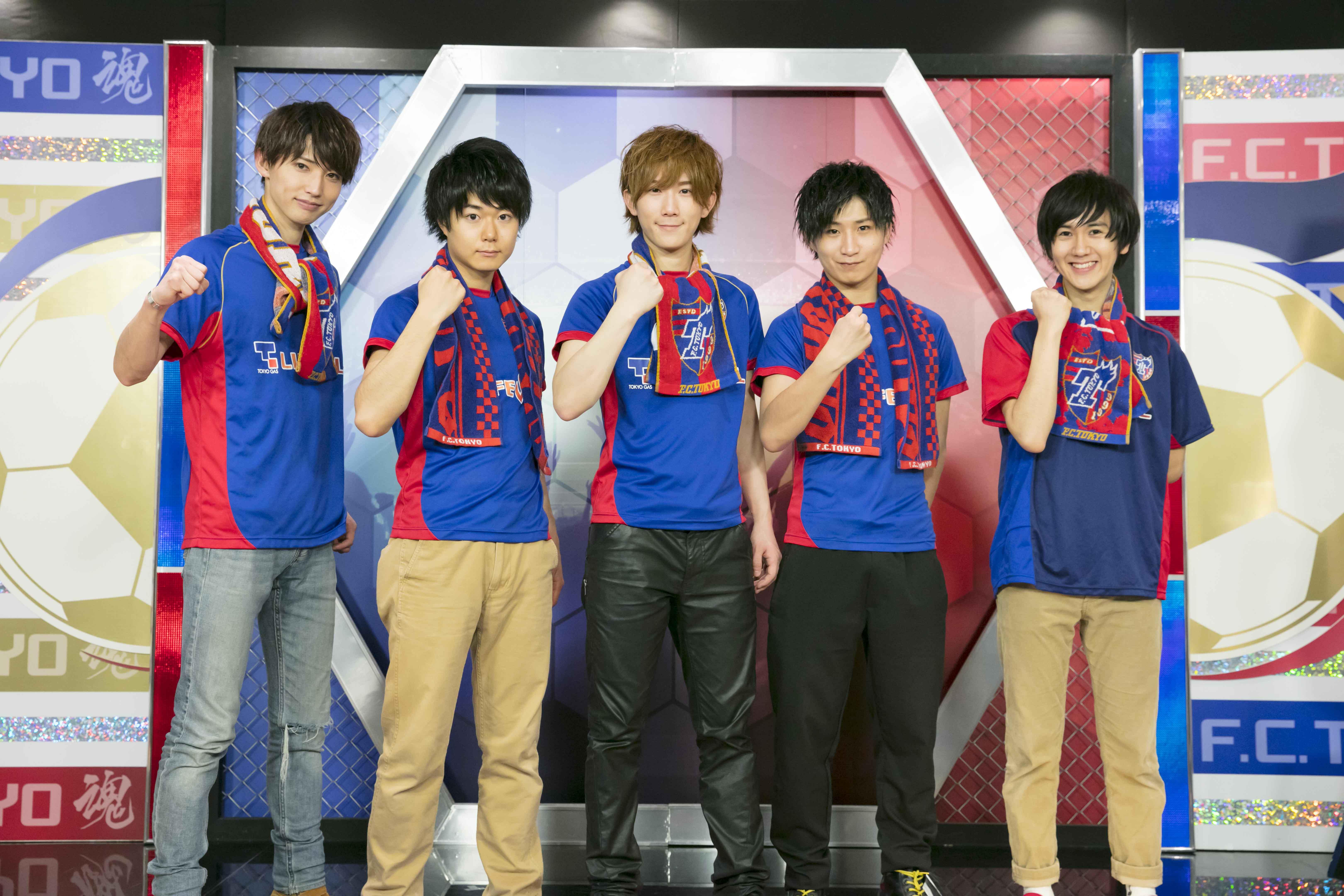 新曲「TOKYO HERO」でFC東京応援番組『F.C.TOKYO 魂!』へエンディングテーマを書き下ろし!