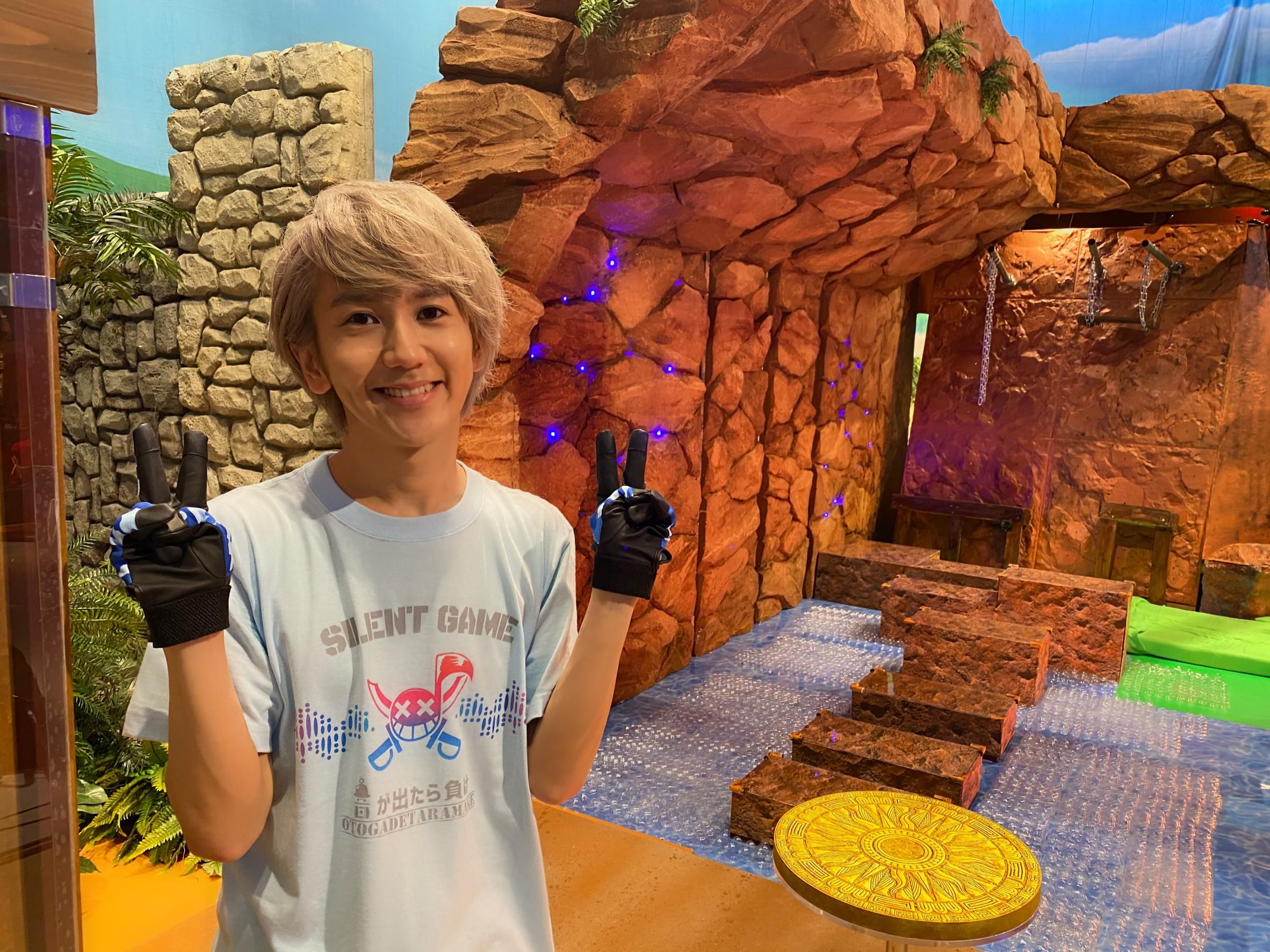 【NEWS】末吉9太郎が 8/14放送 日本テレビ『音が出たら負け』に出演決定!