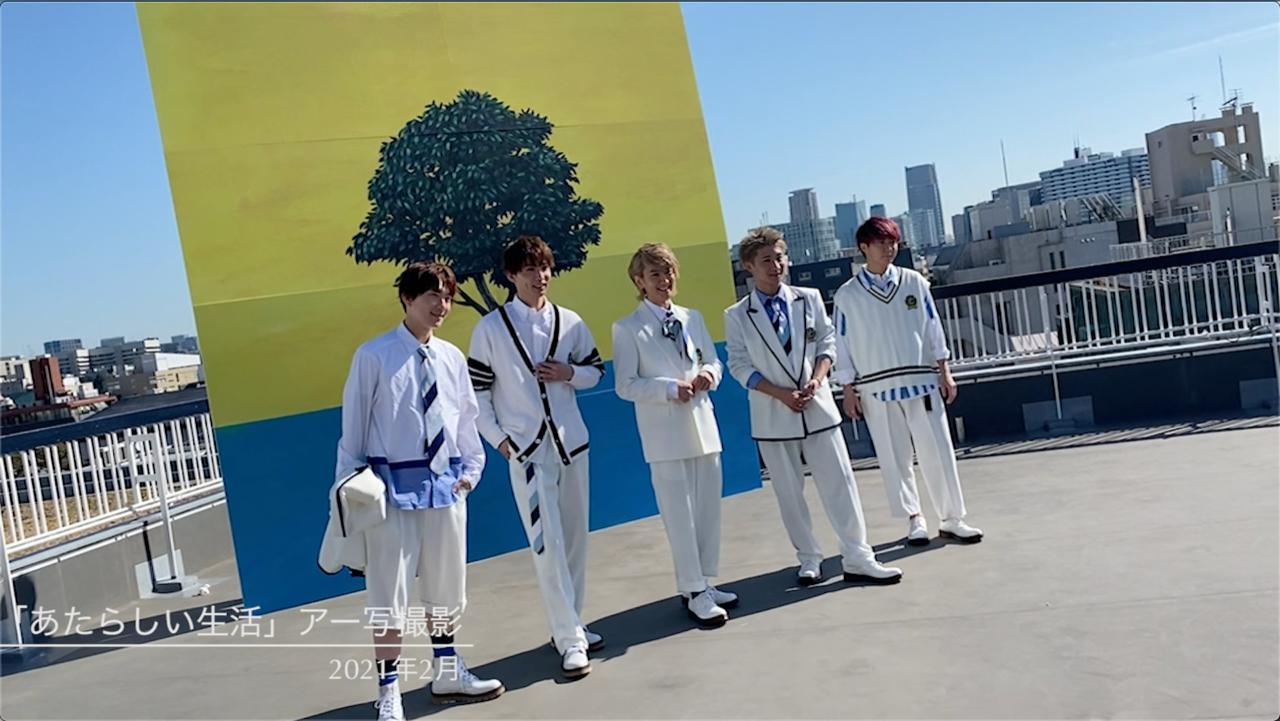【NEWS】1st Mini Album「あたらしい生活」収録全曲の制作ドキュメントを公開決定!